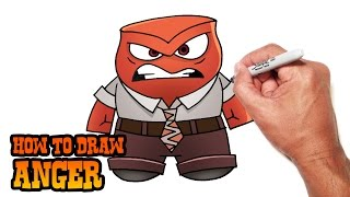 How to Draw Anger | Inside Out