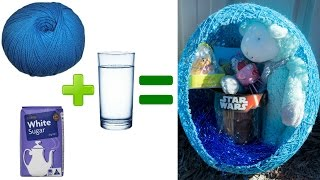 DIY Wool, Sugar & Water Easter Baskets!