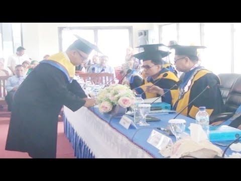 Dok Humas Untad, Ujian Promosi Doktor Agus Lamakarate Disk 2