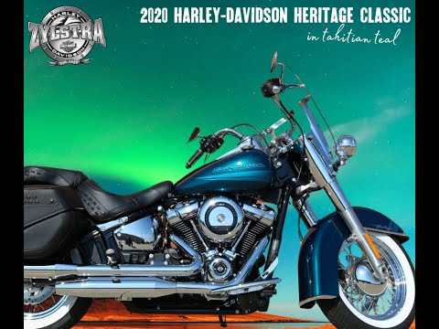 2020 Harley-Davidson Heritage Classic in Ames, Iowa - Video 1