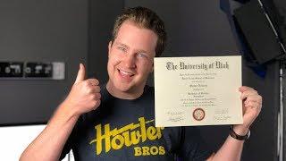 I Graduated! I