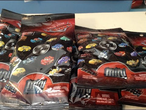 Opening Up 5 New Series 3 Disney Cars Mini Racer Blind Bags!