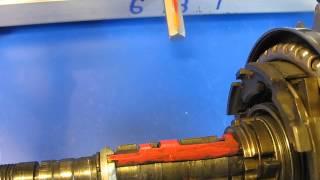 Shimano Nexus Inter 7 SG-7C21 Shifting PawlActuator. Schalten Einer 7 Gang Nabenschaltung Im Inneren