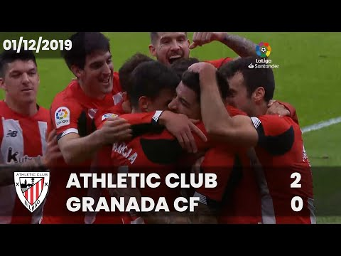 ⚽ FULL MATCH I LaLiga 19/20 I MD15. Athletic Club 2 – Granada CF 0