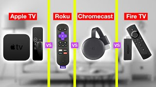 Best Streaming Device Of 2020 (HONEST REVIEW) - Apple TV Vs Roku Vs Fire TV Vs Chromecast