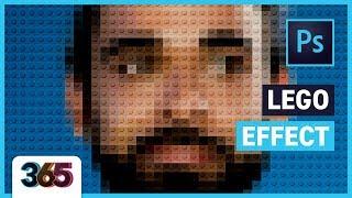 Lego Effect |  Photoshop CC Tutorial #268/365