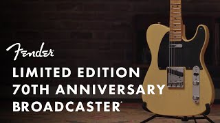 Fender Custom Limited Edition 70th Broadcaster Heavy Relic Video