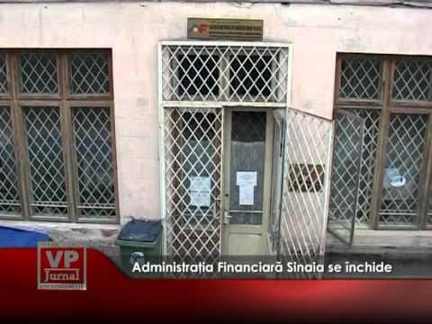 Administraţia Financiară Sinaia se desfiinţează
