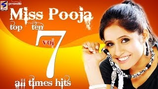 Miss Pooja Top 10 All Times Hits Vol 7  NonStop HD Video  Punjabi New Hit Song 2016