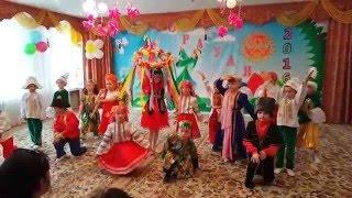 "Рауан 2016 Танец ""Дружба народов"" д/с №18"