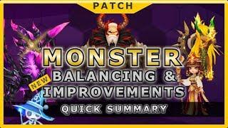 summoners war monster balancing