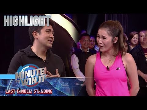 Luis, tinanong kung naka move on na ba talaga si Barbie Imperial | Minute To Win It