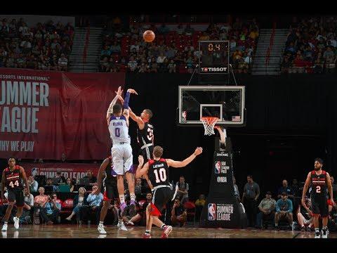 HIGHLIGHTS: LA Lakers vs Portland Trail Blazers (VIDEO) FINALS - 2017 NBA Las Vegas Summer League