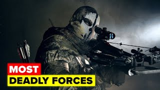 The Most Lethal Special Forces Units From Around the World