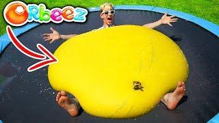 GIANT ORBEEZ BALLOON!! (CRUSHED)