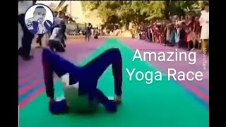Amazing Yoga race record Video
