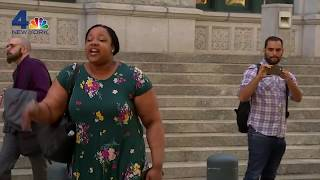 Eric Garner's Daughter Exits Court Yelling 'Fire Pantaleo!' After DOJ Decides No Charges for Cop