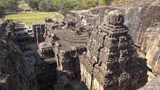 Ellora Caves, Maharashtra, India in 4K Ultra HD - Download this Video in MP3, M4A, WEBM, MP4, 3GP