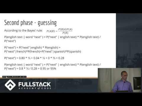 Machine learning algorithm in JavaScript   Fullstack Academy