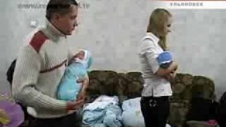 Жительница Ульяновска родила четверых детей