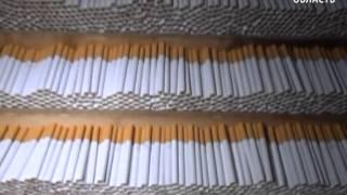 В Калининградской области пресечена работа подпольного цеха по производству табачных изделий