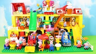 Lego Duplo Peppa Pig House Construction Set - Peppa Pig Legos Creations Toys For Kids #3