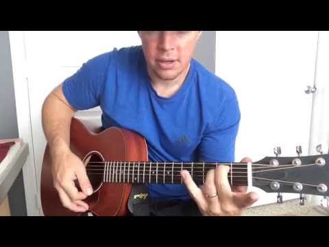 Simple Barre Chords - C and D Chords (Beginner Guitar Lesson)