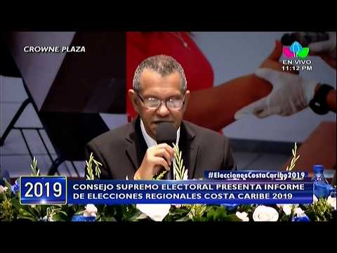 Victoria del FSLN en elecciones regionales en la Costa Caribe 2019