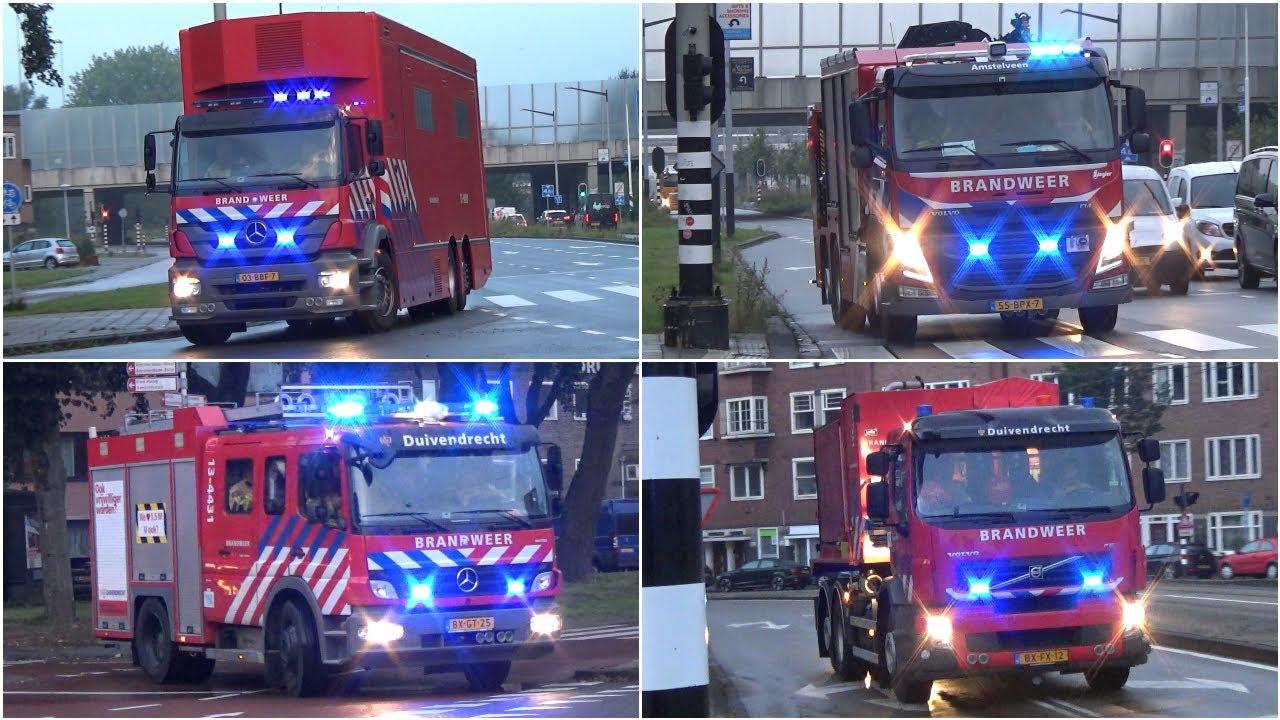 [GRIP 1] Hulpdiensten rukken massaal uit voor een Zeer Grote Brand in Amsterdam!!