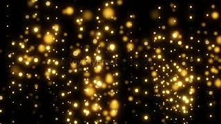 Golden Bokeh, motion, abstract, background, Free, video, motion graphics | gold falling particles hd