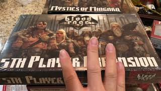 Blood Rage Board Game CMON Complete with all Kickstarter Exclusives and Promotions
