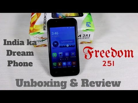 Hindi   Freedom 251 Unboxing & Review – Phone jo kabhi mil nahi sakta   Sharmaji Technical