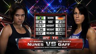UFC Дебют: Аманда Нунес vs Шейла Гэфф