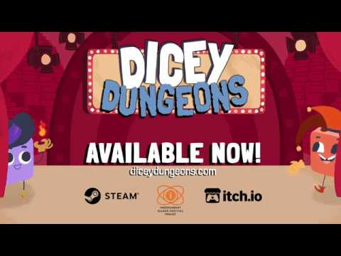 Dicey Dungeons Launch Trailer thumbnail
