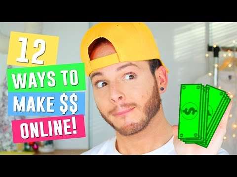 12 Best Ways to Make Money On the Internet| How to make Money online for Teenagers in 2016 & 2017