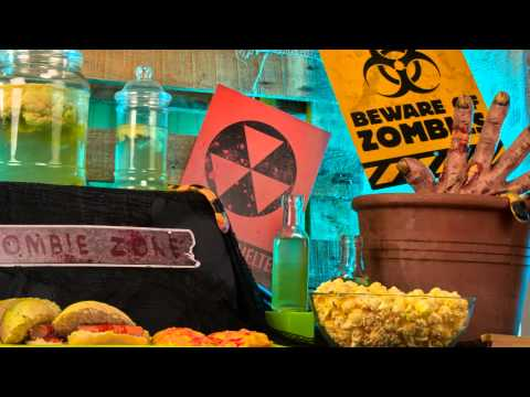 Halloween Zombie decoratie tutorial video