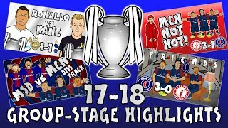 Download Video 🏆GROUP STAGE HIGHLIGHTS - UCL 2017/18🏆 (UEFA Champions League Parody 442oons) MP3 3GP MP4