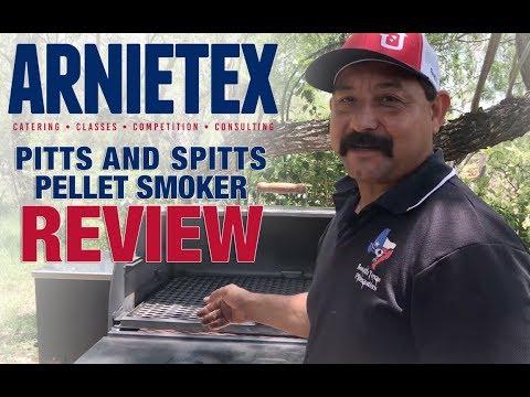 ArnieTex | Pitts & Spitts Pellet Smoker Review