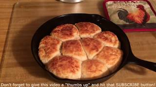 Making Buttermilk Biscuits The Old Fashioned Way