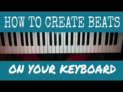 How I created my Makossa beat in my keyboard