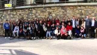 preview picture of video 'L'Escola Andorrana de 2a ensenyança d'Encamp participa en un intercanvi per fomentar l'ús del català'