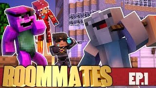 "Minecraft ROOMMATES! ""Goodbye Ross"" S3 #1 (Minecraft Roleplay Show)"