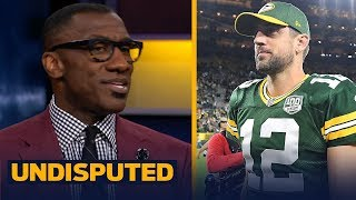 Shannon Sharpe was 'impressed' by Aaron Rodgers during Week 1 vs Chicago   NFL   UNDISPUTED