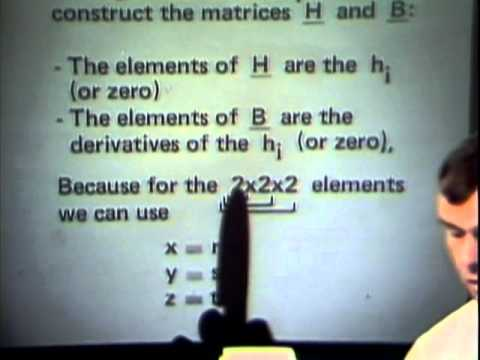 Lecture 6: Formulation and Calculation of Isoparametric