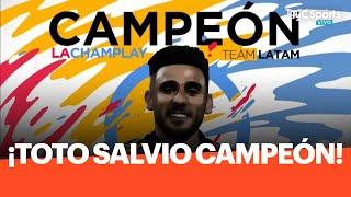 En la final ante Diego Schwartzman, Eduardo Salvio se consagró campeón de la Champlay Solidaria, el torneo de FIFA20 impulsado por Peque y Paulo Dybala, que recaudó dinero para ayudar a la Cruz Roja.
