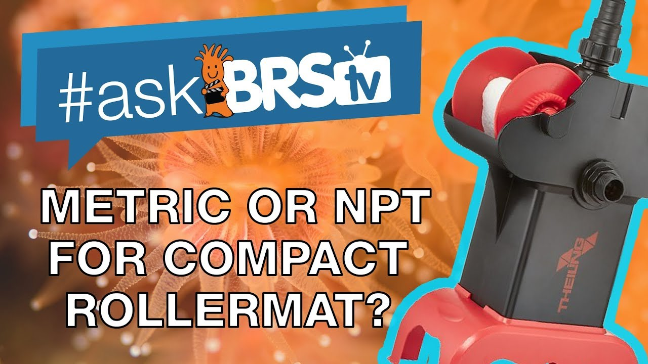 Are the Theiling Compact Rollermat fittings metric? - #AskBRStv