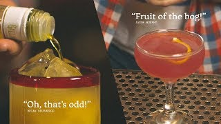 2 Vodka Cocktails: Harvey Wallbanger and Cosmo
