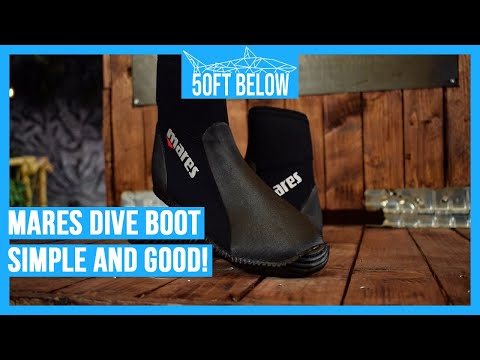 Mares Dive Boot Classic Review in 3 min