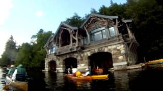 ADK Paddle to St  Regis Lake Great Camps
