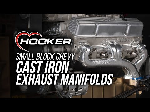 Upgrade Your Small Block's Stock Cast-Iron Exhaust Manifolds with High-Flow Manifolds from Hooker